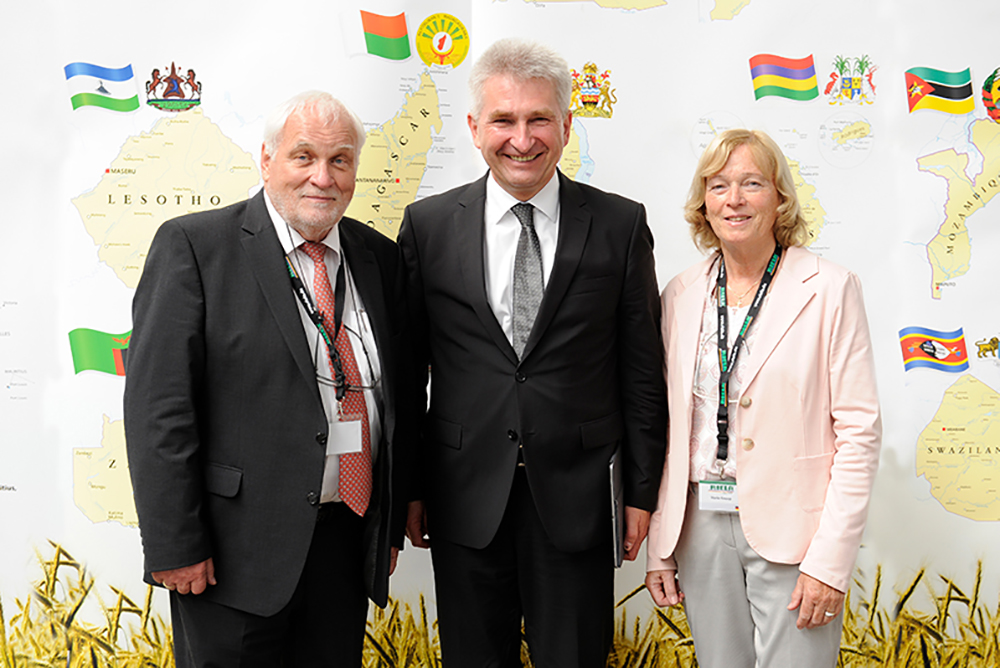 Meeting with Minister Pinkwart