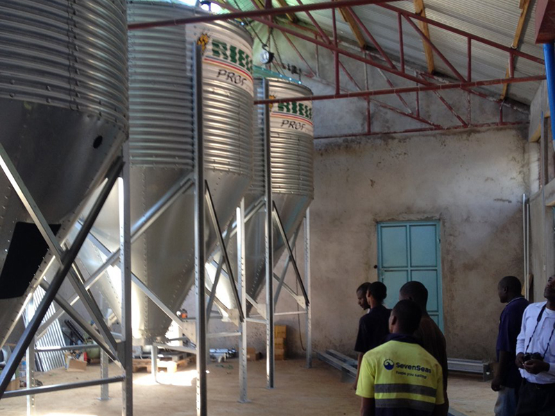 Anlagen in Tansania