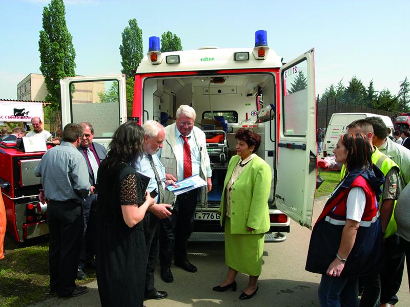 Rettungswagen Cluj - Rumänien 010
