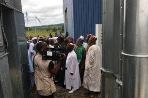Eröffnung der ersten Anlage in Nigeria