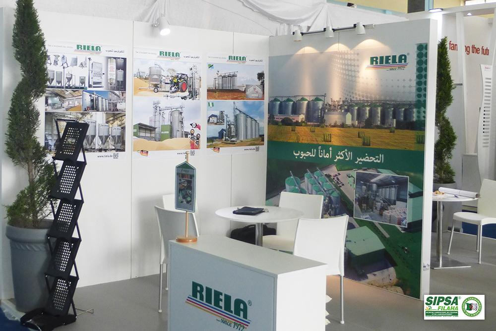 RIELA<sup>®</sup>Auf der Messe SIPSA FILAHA 2019 in Algerien