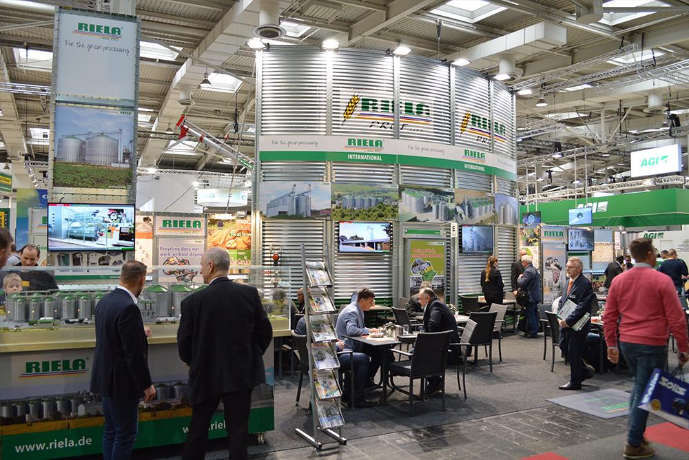 RIELA<sup>®</sup> Auf der Messe AGRITECHNICA 2019, Hannover, Deutschland