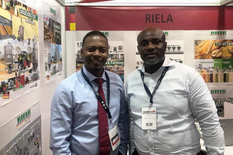 RIELA® Am 10.-12.12.2019 auf der Messe AGROFOOD 2019, in Ghana