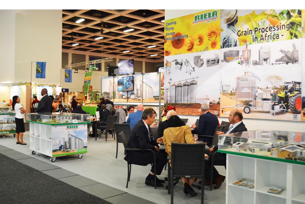RIELA<sup>®</sup> Auf der Messe Grüne Woche 2020 in Berlin, Deutschland
