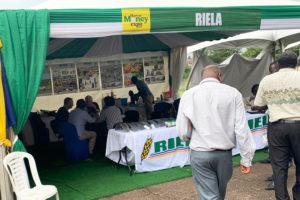 RIELA® at the fair Harvest Honey Expo 2020 in Kampala, Uganda