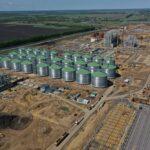 Montage einer neuen Anlage in Russland
